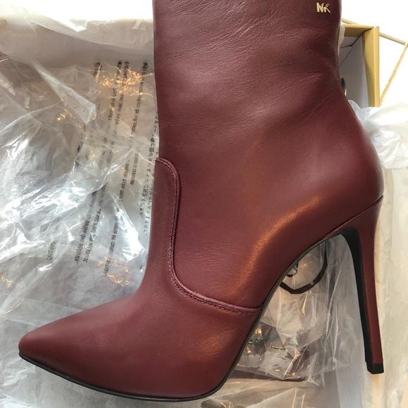 New Michael Kors Blaine Ankle Leather